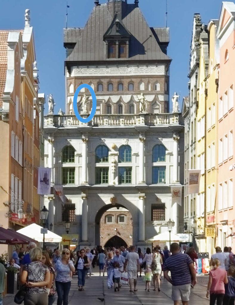 Pobożność - Pietas - Złota Brama - Gdańsk